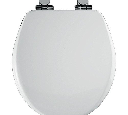 Round Closed Front High Density Molded Wood Toilet Seat