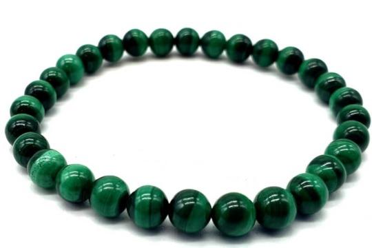 Bracelet Malachite Light Green