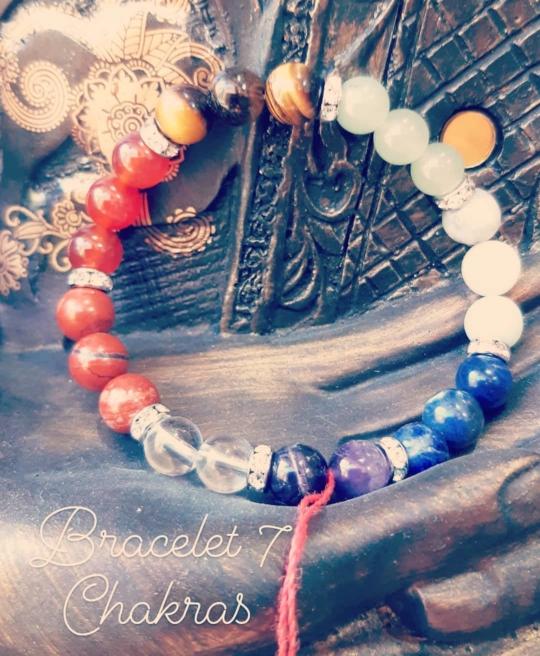Bracelets de soins 7 chakras