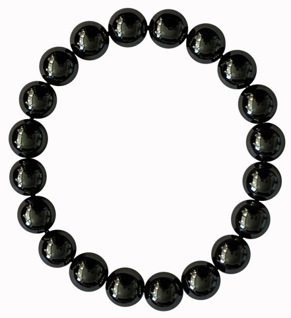 Bracelet perles Hématite 10mm