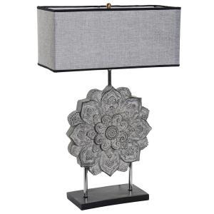 LAMPE DE TABLE MANDALA