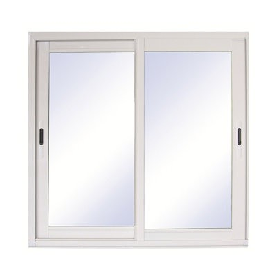 baie vitree coulissante blanc rupture de pont thermique 200 x 240 cm