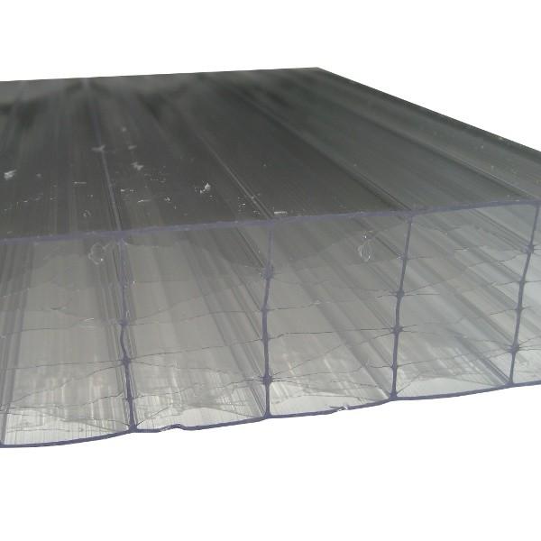 plaque polycarbonate alveolaire claire 32 mm 1 25 m longueur de 2 a 7 m