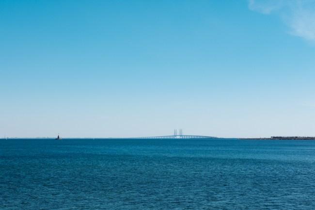 Øresundski most med Dansko in Švedsko