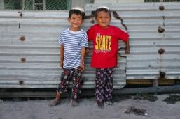 Obisk ene izmed vasi - Palawan, Filipini