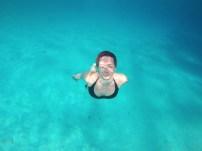 Sinja modrina otočja Palawan, Filipini