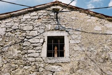 Izlet na Kras - značilna istrsko-kraška arhitektura, vas Zazid, Kraški rob