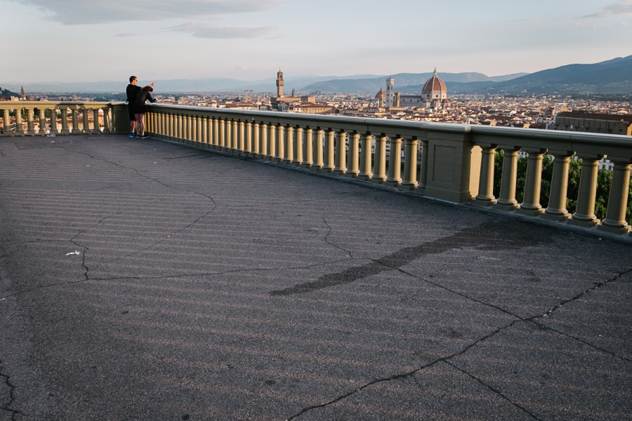 Panorama Firenc, Piazzale Michelangelo
