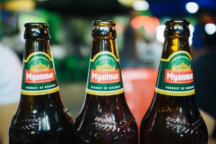 Lokalno pivo Myanmar
