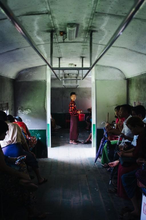 Jangonska krožna železniška linija, Mjanmar
