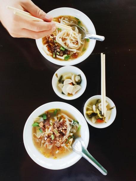 Mjanmarska kulinarika, Shan noodles