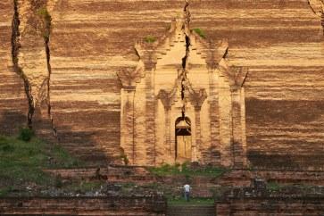 Stupa Pahtodawgyi, Mingun, Mjanmar