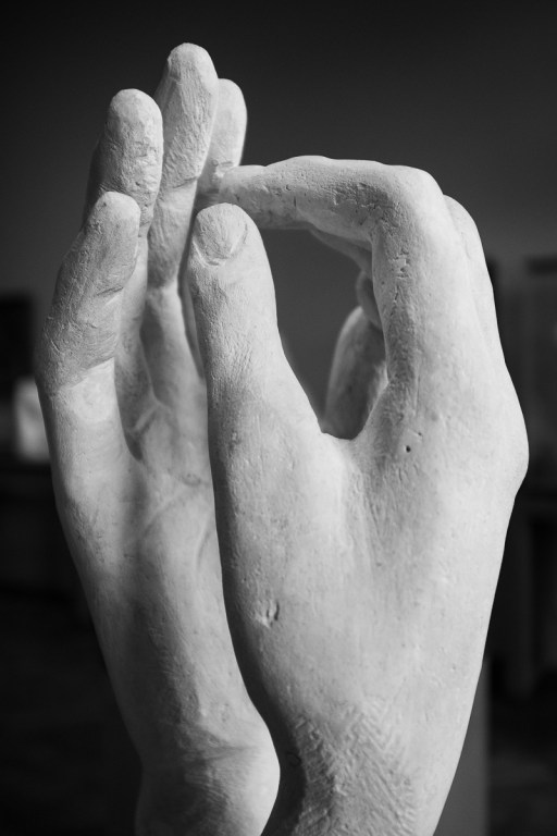Detajl enega izmed del, Musée Rodin, Pariz