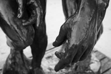 """Meščani iz Calaisa"", Musée Rodin, Pariz"