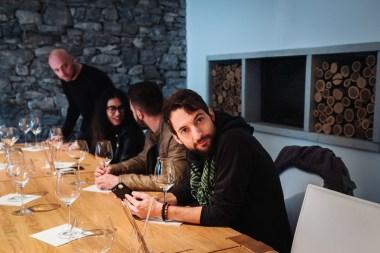 Rok med degustacijo vin Pasji rep, Vipavska dolina