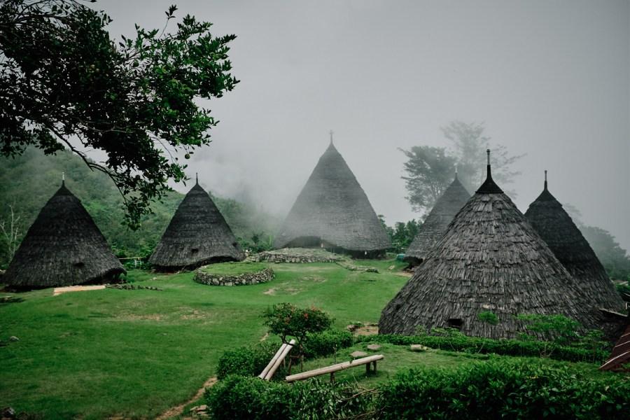 Wae Rebo, Flores, Indonezija
