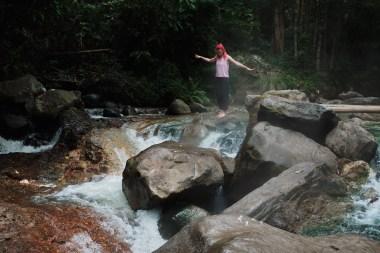 Izvir vulkanske vode, Bajawa, Flores, Indonezija