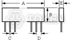 Serial Precision Resistor Network Voltage Divider (UPRNS