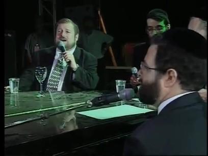 אברהם פריד, מרדכי בן דוד ודדי גראוכר - מחרוזת שבת