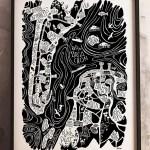 Petite affiche Arcachon-Cap Ferret