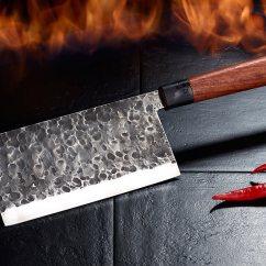 Rating Kitchen Knives Compact Appliances For Small Kitchens Tokiokitchenware 德国纯手工锻造刀不锈钢厨房刀具菜刀水果刀厨房刀具 Kuchenmesser Damast