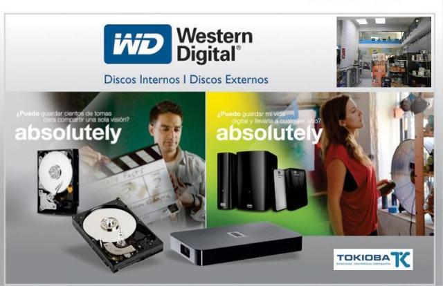 WD Discos de Almacenamiento