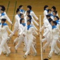 The next olympic sport? Synchronized walking, only in Japan