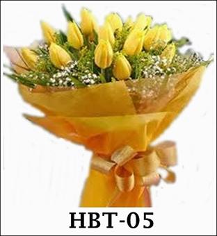 Rangkaian Bunga Tangan Tulip
