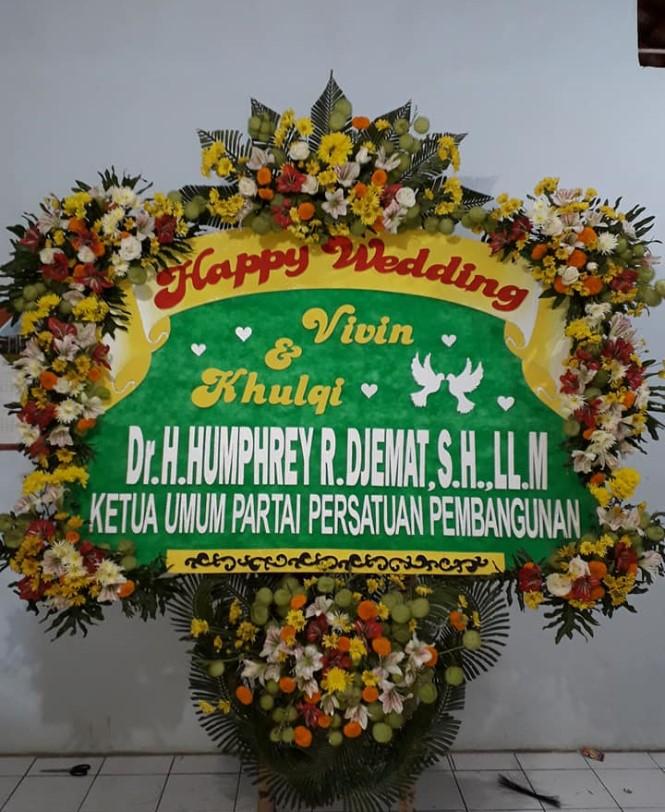 Jual Bunga Papan Pernikahan kota Manado
