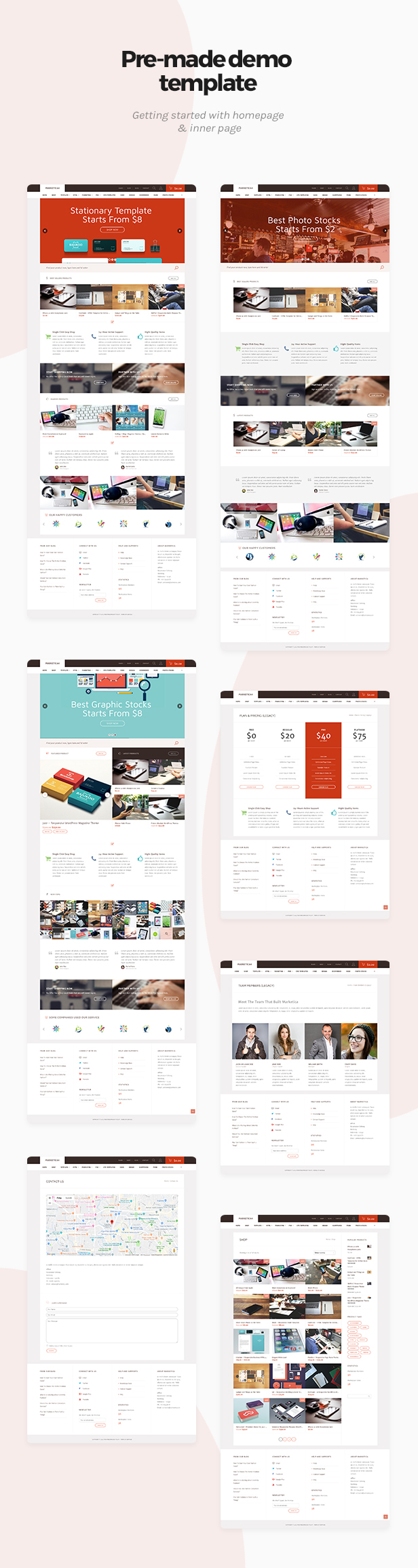 Marketica - eCommerce and Marketplace - WooCommerce WordPress Theme - 1