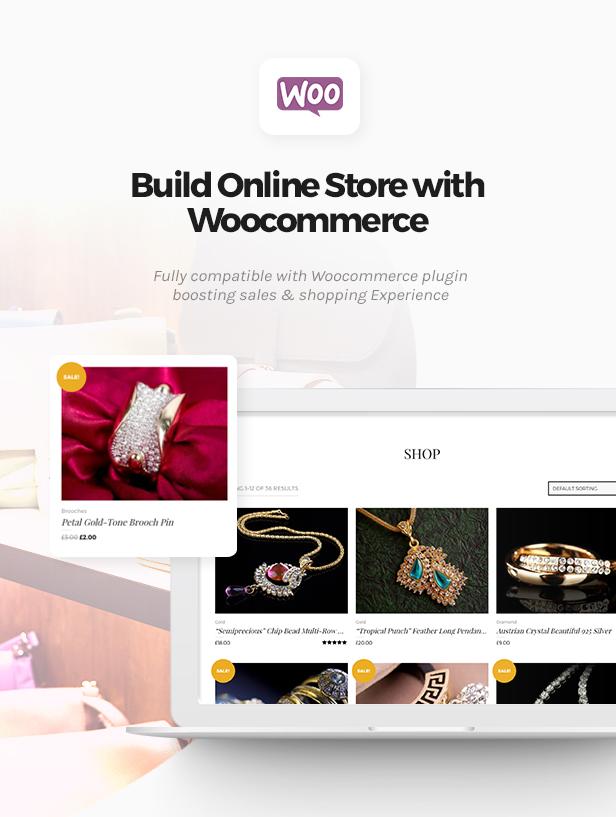 Jewelrica - eCommerce WordPress Theme - 4