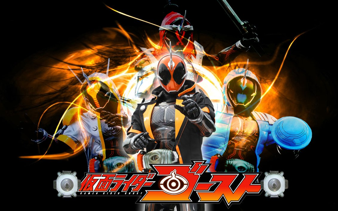 Image result for KAMEN RIDER GHOST