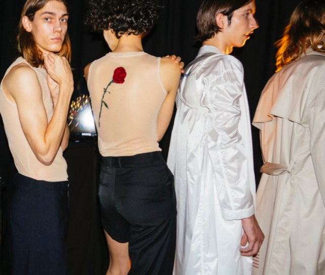 Backstage Photos From Dressedundressed S S At Amazon Fashion Week Tokyo By Dan Bailey