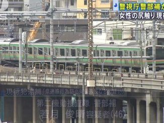 A police inspector was witnessed molesting a woman on a train near Ikebukuro Station