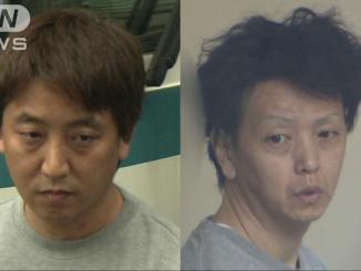 Kazuya Kora (left) and Tomohiro Uchida