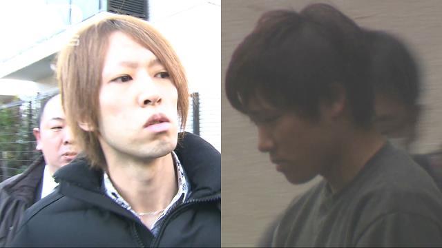 Yusuke Aoki (left) and Toshihiko Koga
