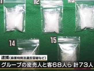 Various raids by Miyagi police have resulted in the confiscation of 118 grams of illegal drugs