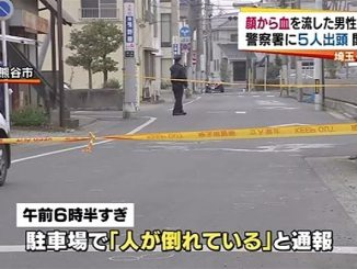 An assault incide at a parking lot in Kumagaya City early Monday morning left one man dead