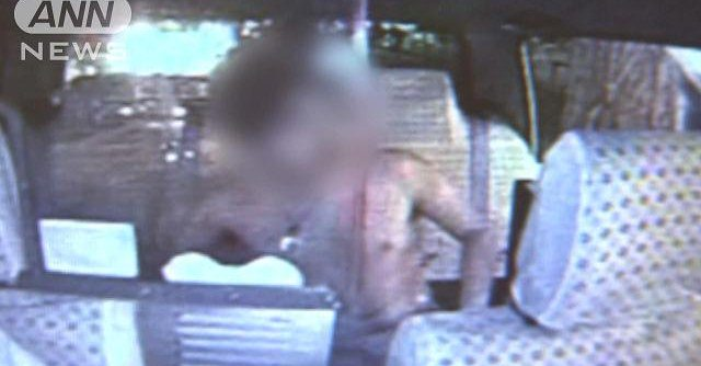 Police in Sapporo arrested a male part-time employee for damaging the inside of a taxi