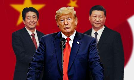 Abe, Trump and Xi