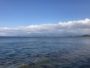 志賀島から見る海