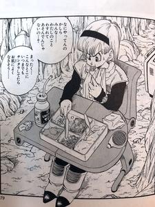 『本当に美味しくない牛カルビ重』をナメック星で食べるブルマ