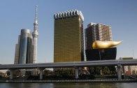 Tokyo Skytree and Asahi Beer Hall