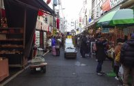 Walking around Tsukiji Outer Market
