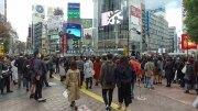 Walking around Shibuya