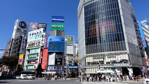 20150111 Shibuya Crossing