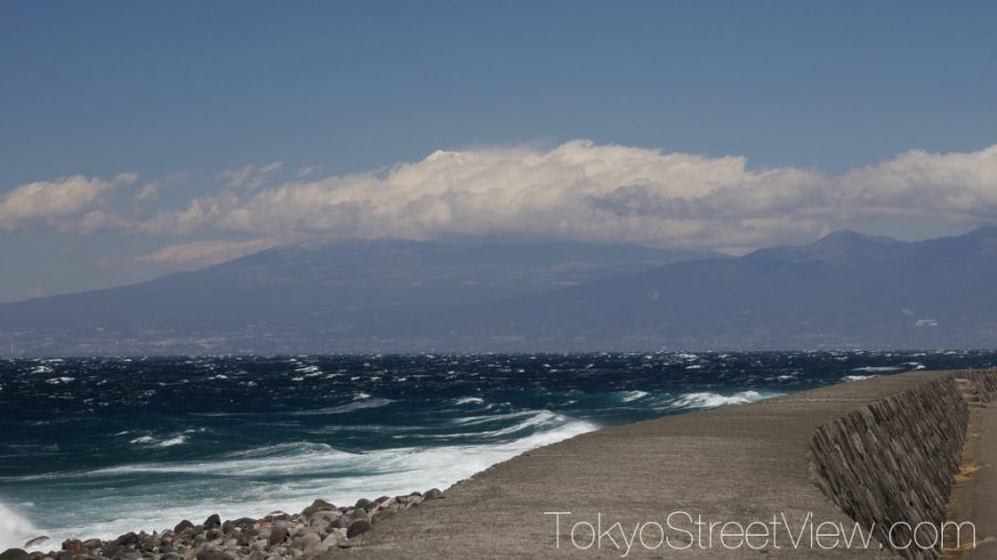 Mt. Fuji from Heda pier