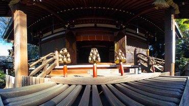 Okusawa Shrine Saisenbako