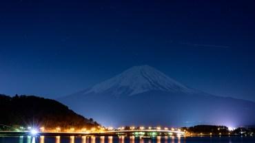 Fuji night