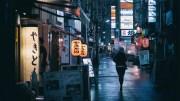 Wonderful atmosphere: Shimbashi at night